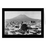 Arequipa and Mount Misti in Peru 1890 Card