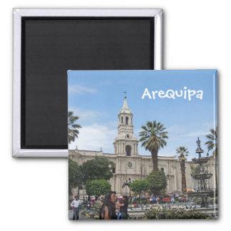 Arequipa - Plaza de Armas Imán Cuadrado
