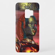 ARES /CYBORG PORTRAIT IN SUNSET Science Fiction Case-Mate Samsung Galaxy S9 Case