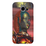 ARES /CYBORG PORTRAIT IN SUNSET Science Fiction Samsung Galaxy S6 Case