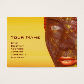 ARES IN THE DESERT OF HYPERION Detail Business Card