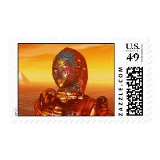 ARES IN THE DESERT OF HYPERION POSTAGE