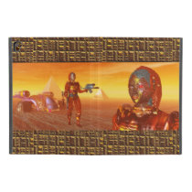 """ARES IN THE DESERT OF HYPERION Science Fiction iPad Pro 9.7"""" Case"""