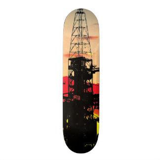 Ares IX Rocket Launch System Skateboard Deck