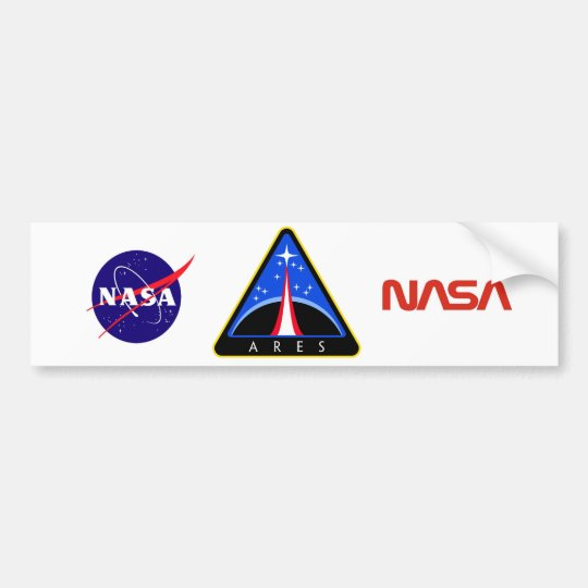 Ares Launch Vehicle Bumper Sticker