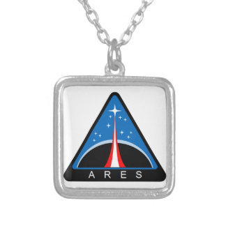 Ares Launch Vehicle Personalized Necklace