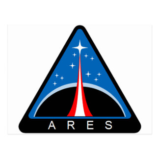 Ares Launch Vehicle Postcard