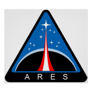 Ares Launch Vehicle Poster