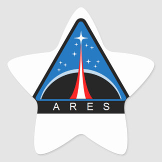 Ares Launch Vehicle Star Stickers