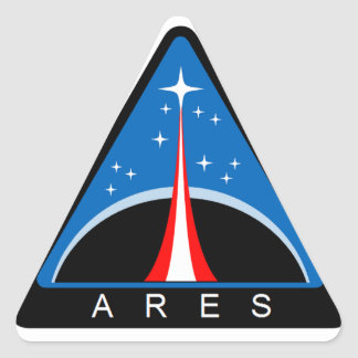 Ares Launch Vehicle Triangle Stickers