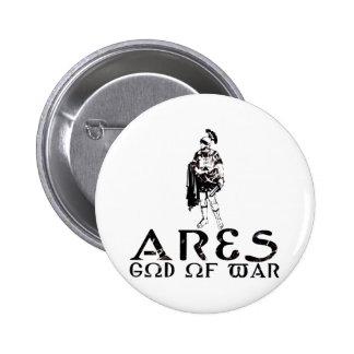 Ares Pin Redondo De 2 Pulgadas