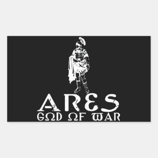 Ares Rectangular Sticker
