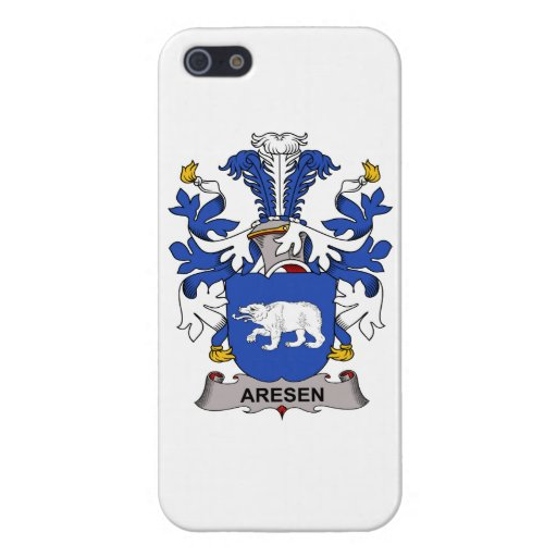 Aresen Family Crest iPhone 5 Cases