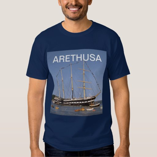Arethusa with all her flags flying tshirt