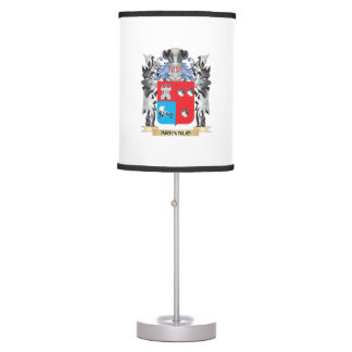 Arevalo Coat of Arms - Family Crest Desk Lamp