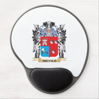 Arevalo Coat of Arms - Family Crest Gel Mouse Pad