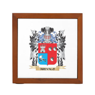 Arevalo Coat of Arms - Family Crest Pencil/Pen Holder