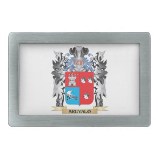 Arevalo Coat of Arms - Family Crest Rectangular Belt Buckles