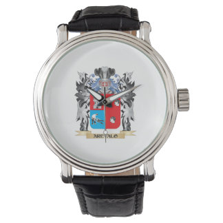 Arevalo Coat of Arms - Family Crest Wristwatches