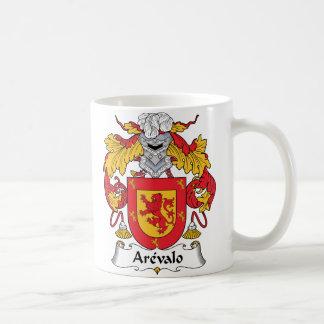 Arevalo Family Crest Classic White Coffee Mug