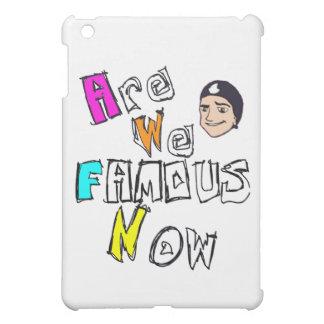 AreWeFamousNow Merch iPad Mini Covers