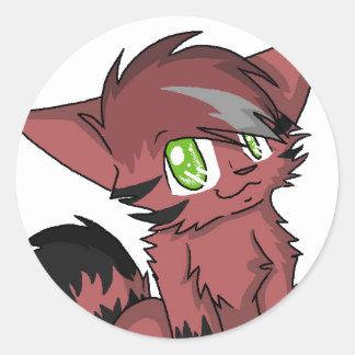 Arex Round Sticker
