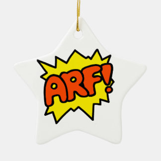 Arf! Ceramic Ornament