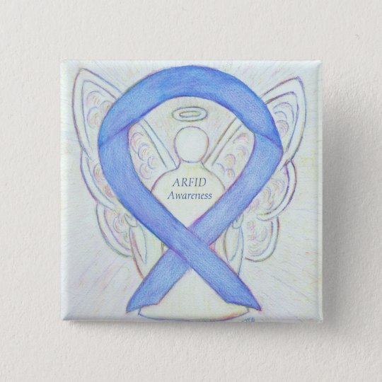 Arfid Eating Disorder Awareness Ribbon Angel Pin Zazzle