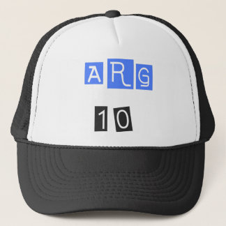 ARG 10! Cool sports design! Trucker Hat