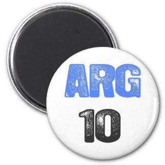 ARG 10! REFRIGERATOR MAGNETS