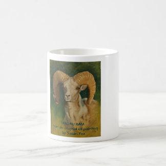 Argali Ram Classic White Coffee Mug
