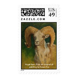 Argali Ram Stamp