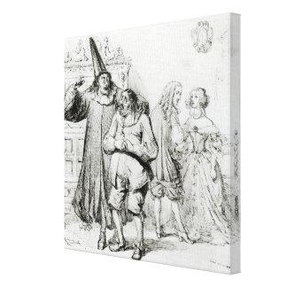 Argan and Monsieur Purgon Canvas Print