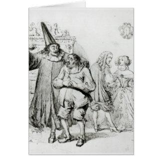 Argan and Monsieur Purgon Cards