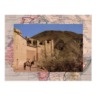 Argel, ciudad emparedada, Marruecos meridional Tarjeta Postal