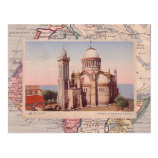 Argel, iglesia del d'Afrique de Notre Dame Postal