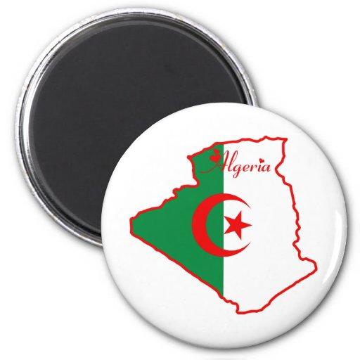 Argelia fresca imán de frigorifico
