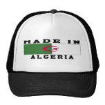 Argelia hizo en diseños gorras de camionero
