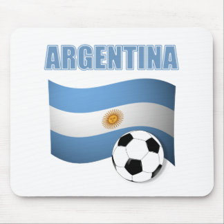 Argenitna world cup t-shirt mouse pad