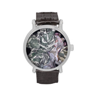 Argent Roses Watch