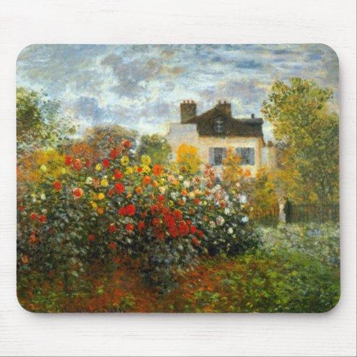 Argenteuil by Claude Monet Mouse Pad