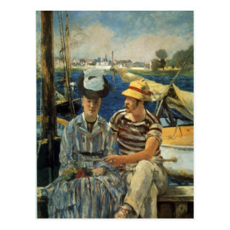 Argenteuil by Edouard Manet Postcard