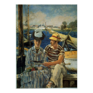 Argenteuil by Edouard Manet Poster
