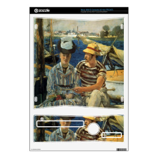 Argenteuil by Edouard Manet Skin For The Xbox 360 S