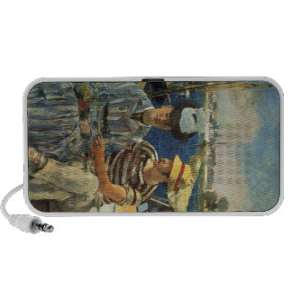 Argenteuil by Edouard Manet Portable Speakers