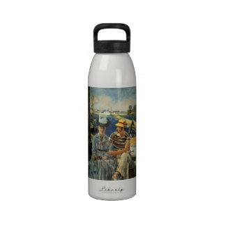 Argenteuil by Edouard Manet Water Bottle