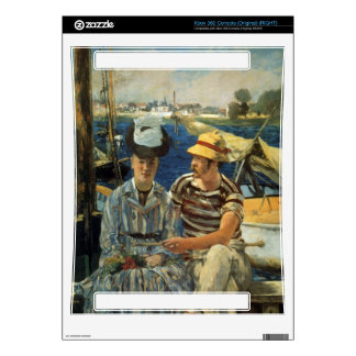 Argenteuil by Edouard Manet Xbox 360 Decal