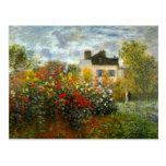 Argenteuil de Claude Monet Tarjeta Postal