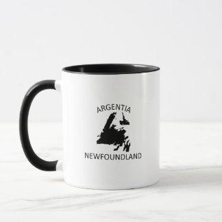 Argentia newfoundland mug
