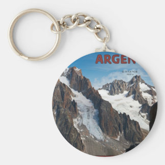 Argentiere - View from Grands Montets Keychain